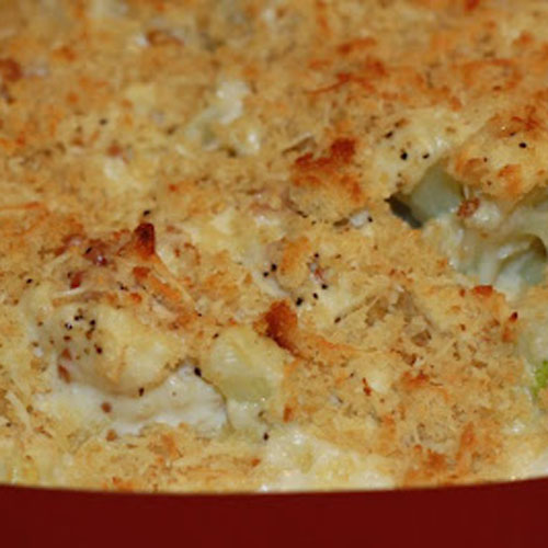Truffled Mashed Potato Gratin Recipe — Dishmaps