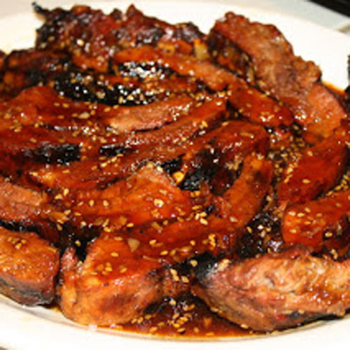 spicy honey glazed ribs recipe spicy sweet ribs are the perfect finger ...